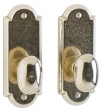 Rocky Mountain Hardware<br />EB75/EB75 - 2 1/2&quot; x 6 1/2&quot; Arched Escutcheon