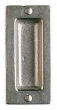 Rocky Mountain Hardware<br />FP204 - 2&quot; x 4 1/4&quot; Rectangular Flush Pull