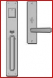 Rocky Mountain Hardware<br />G30433/E30411 - Entry Mortise Lock 2 1/2&quot; x 10&quot; Hammered