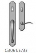 Rocky Mountain Hardware<br />G3061/E733 - Endura Trilennium Arched Entry Multi-Point Trim Only