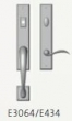 Rocky Mountain Hardware<br />G3064/E434 - Endura Trilennium Rectangular Sectional Entry Multi-Point Trim Only
