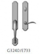 Rocky Mountain Hardware<br />G3240/E733 - Endura Trilennium Arched Sectional Inactive/Thumb Turn Multi-Point Trim Only