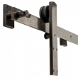 Rocky Mountain Hardware<br />TRK110 Double Door Track  - Barn Door Track  149  1/4&quot; Max Length