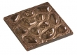 Rocky Mountain Hardware<br />TT210 - ROCKY MOUNTAIN RIVER ROCKS TILE 4&quot; x 4&quot;
