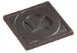 "Rocky Mountain Hardware<br />TT500 - Rocky Mountain Circle Pyramid Tile 4"" x 4"""
