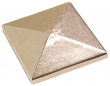 "Rocky Mountain Hardware<br />TT514 - Rocky Mountain Pyramid Tile 4"" x 4"""