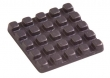 "Rocky Mountain Hardware<br />TT556 - Rocky Mountain Waffle Tile 2"" x 2"" - GT"