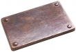 Rocky Mountain Hardware<br />TT644 - ROCKY MOUNTAIN RIVETS TILE 4&quot; x 6&quot;