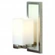 Rocky Mountain Hardware<br />WS416 - Truss Sconce - Square Globe with Designer Leather