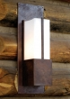 "Rocky Mountain Hardware<br />WS430-LED - Vessel Sconce with LED Lamps 12"" x 33 15/16"" x 8 3/16"""