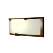 "Rocky Mountain Hardware<br />WS440-LED - Plank Sconce - Flat Glass with LED Lamps 22"" x 8"" x 5 1/4"""