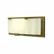 "Rocky Mountain Hardware<br />WS445 - Plank Sconce - Corrugated Glass 22"" x 8"" x 5 1/4"""