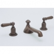 Rohl Faucets<br />U.3730L - ROHL THREE HOLE LOW LEVEL SPOUT WIDESPREAD LAVATORY FAUCET WITH LEVER HANDLES U.3730L