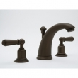 Rohl Faucets<br />U.3760L - ROHL THREE HOLE HIGH-ARC SPOUT WIDESPREAD LAVATORY FAUCET WITH LEVER HANDLES U.3760L