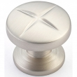 Schaub<br />210-15 - Northport, Round Knob, Satin Nickel, 1-3/8&quot; dia