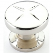 Schaub<br />210-PN - Northport, Round Knob, Polished Nickel, 1-3/8&quot; dia