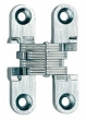 Soss Invisible Hinges<br />101SS - Model 101SS Stainless Steel Invisible Cabinet Hinge
