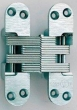 Soss Invisible Hinges<br />220SS - Model 220SS Stainless Steel Invisible Hinge