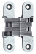Soss Invisible Hinges<br />416SS - Model 416SS Stainless Steel Invisible Hinge