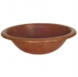 Thompson Traders - sinks<br />2RP - ALDER II SINK - FIRED COPPER