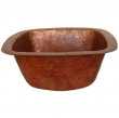 Thompson Traders - sinks<br />3PSS - PICASSO II SINK - FIRED COPPER