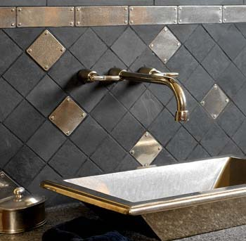 Solid Bronze Tile<br>Rocky Mountain Hardware