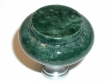 Top Knobs<br />F-M121C TOP KNOBS - Green Marble Knob (M121C) with Chrome base - TOP KNOBS