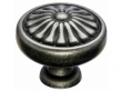 Top Knobs<br />M1598 - Flower Knob 1 1/4&quot; - Pewter Antique
