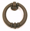 Top Knobs<br />M174 - Newton ring pull knobs 1 1/2&quot; in Rust
