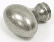 Top Knobs<br />M202 - Worden knob 1 1/4&quot; in Antique Pewter