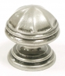 Top Knobs<br />M22 - Knobs  London knob 1 1/4&quot; in Antique Pewter