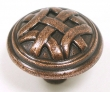 Top Knobs<br />M223 - Celtic large knob 1 1/4&quot; in Old English Copper