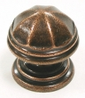 Top Knobs<br />M23 - London knob 1 1/4&quot; in Old English Copper, Knobs Knobs .