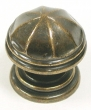 Top Knobs<br />M24 - London knob 1 1/4&quot; in German Bronze, Knobs Knobs