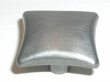 Top Knobs<br />M253 - Square knob 1 3/8&quot; in Pewter Light