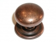 Top Knobs<br />M26 - Knobs M26 Victoria knob 1 1/4&quot; w/backplate in Old English Copper , .