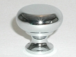 Top Knobs<br />M270 - Flat faced round knob 1 1/4&quot; in Polished Chrome