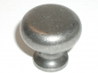 Top Knobs<br />M275 - Flat faced round knob 1 1/4&quot; in Antique Pewter