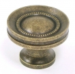 Top Knobs<br />M295 - Button faced knob 1 1/4&quot; in German Bronze