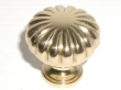 Top Knobs<br />M320 - Melon cut knob 1 1/4&quot; in Polished Brass