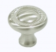 Top Knobs<br />M326 - Swirl cut knob 1 3/16&quot; in Brushed Satin Nickel