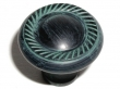 Top Knobs<br />M328 - Swirl cut knob 1 3/16&quot; in Dark Verdigris