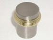 Top Knobs<br />M341 - Split finish knob 1&quot; in Brushed Satin Nickel &amp; Polished Brass