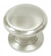 Top Knobs<br />M351 - Knob 1 1/4&quot; in Brushed Satin Nickel