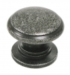 Top Knobs<br />M353 - Knob 1 1/4&quot; in Black Iron