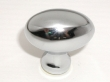 Top Knobs<br />M369 - Egg knob 1 1/4&quot; in Polished Chrome