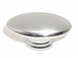 Top Knobs<br />M380 - Oval Knob 1 1/2&quot; in Polished Chrome