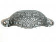 Top Knobs<br />M61 - Abbot cup pull 3 15/16&quot; CC in Pewter