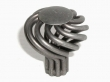 Top Knobs<br />M613 - Small Flower Twist Knob in Pewter