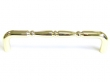 "Top Knobs<br />M715-7 - Nouveau Ring Appliance Pull 7"" (c-c) - Polished Brass"